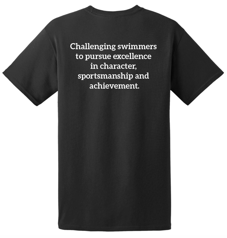 ASC Swimmer Tee Black