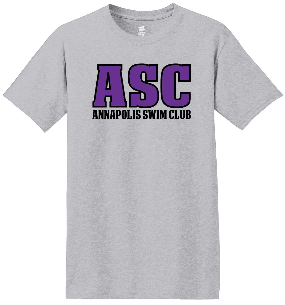 ASC Swimmer Tee Grey