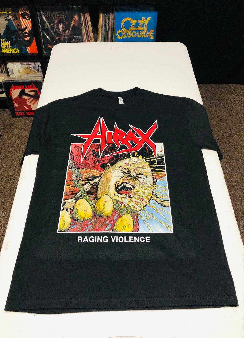 HIRAX Raging Violence T - Shirt U.S.A.