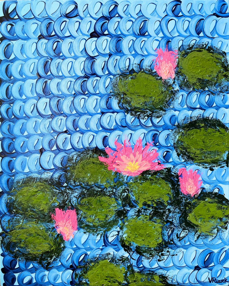 Image of WATERLILIES 8