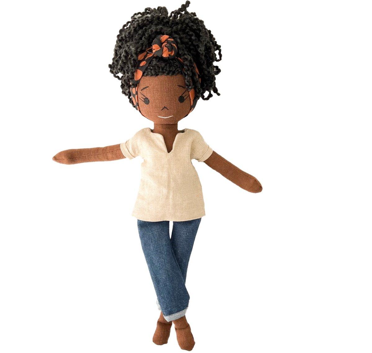 Zara Handmade Linen Doll