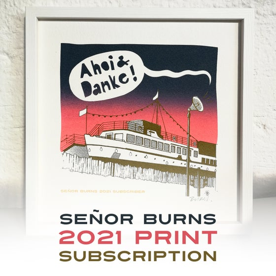 Image of SEÑOR BURNS 2021 SUBSCRIPTION (JAHRESABO)