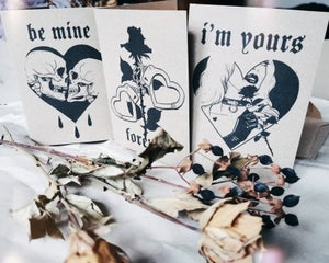Image of Valentines Day Card Set FOREVER YOURS