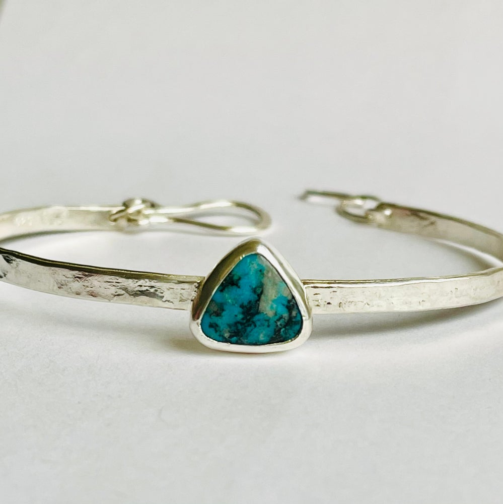 Image of Sterling silver and Turquoise bracelet