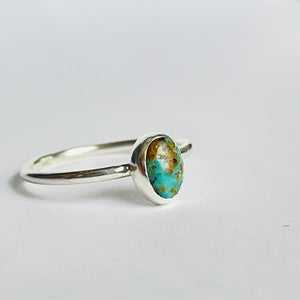 Image of Small turquoise ring