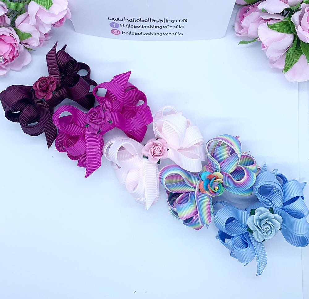 Image of Bella Rose bow