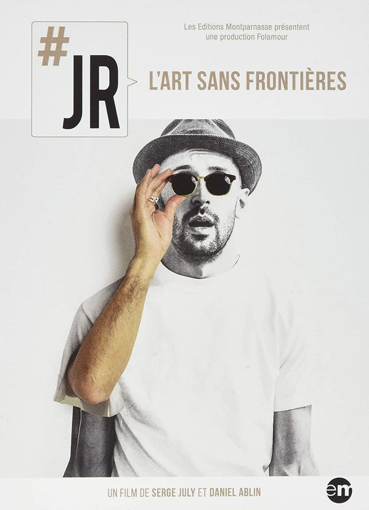 Image of JR l'art sans Frontiéres DVD