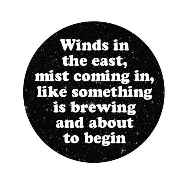 Image of badge mary poppins - winds in the east