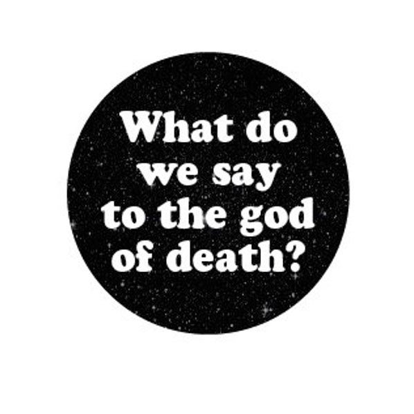 Image of badge game of thrones - god of death