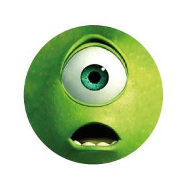 Image of badge monstres et compagnie - monsters inc