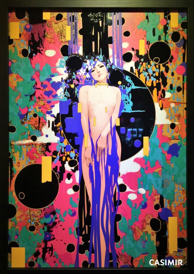 Conflicts / 衝突 Unknown Asia Art Exchange OSAKA Special Limited Print