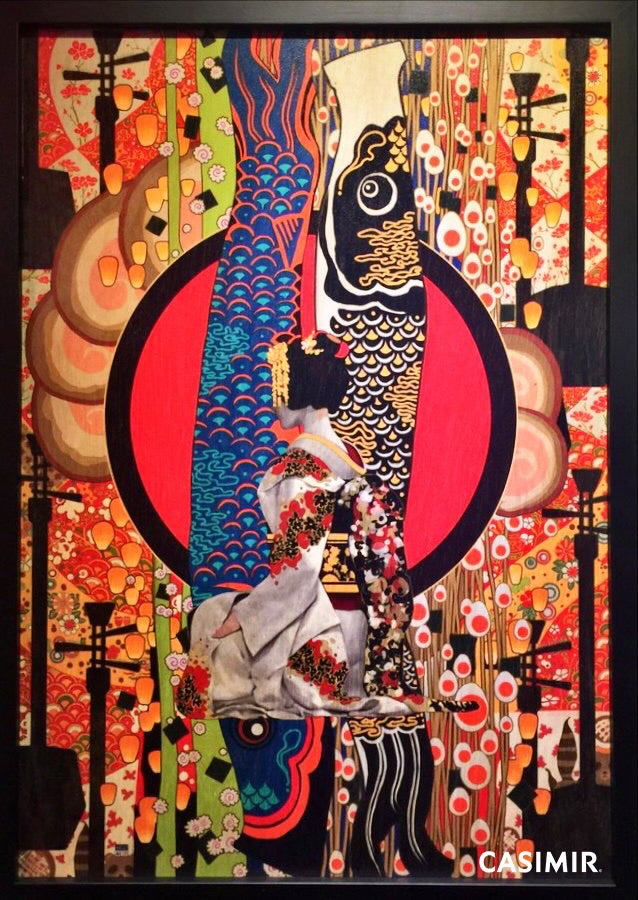 Geisha / 藝伎 Unknown Asia Art Exchange OSAKA Special Limited Print