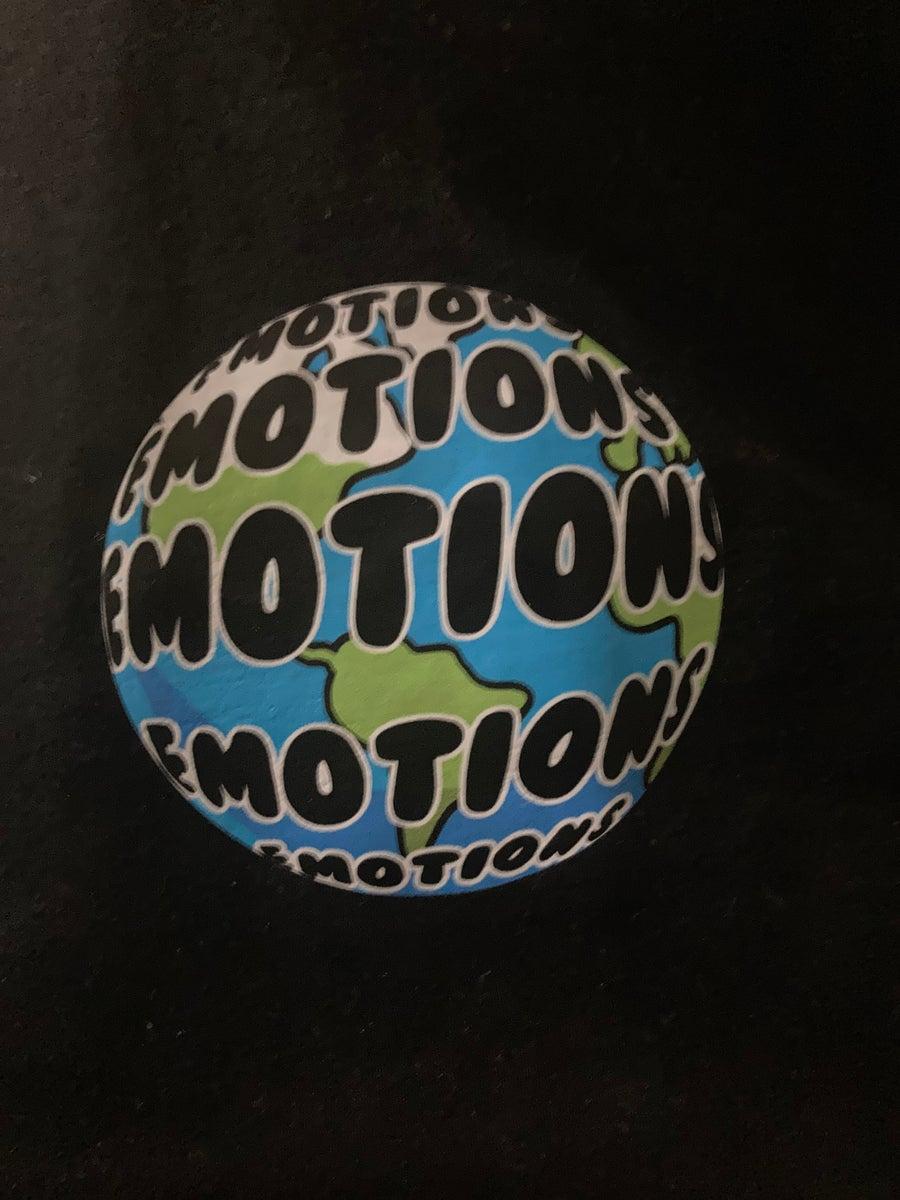 Image of NEW Black World of Emotions T-shirt