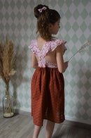 Image 4 of Robe tablier betsy ecureuil et broderie anglaise