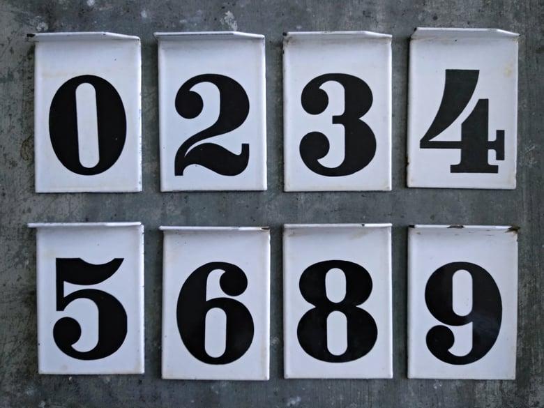 Image of Anciennes plaques émaillées de pompe à essence. Gasoil. Petrol.