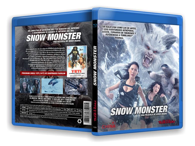 Image of BLURAY SNOW MONSTER + YETI, EL ABOMINABLE HOMBRE DE LAS NIEVES