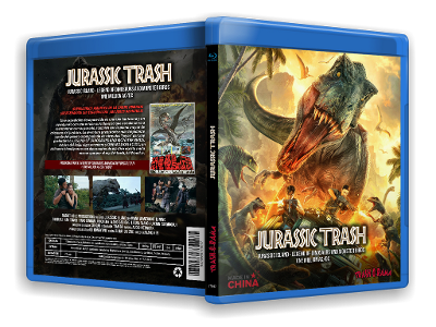 Image of JURASSIC TRASH COLLECTION (JURASSIC ISLAND + LEGEND OF DINOSAURS & MONSTER BIRDS + ONE MILLION AC/DC