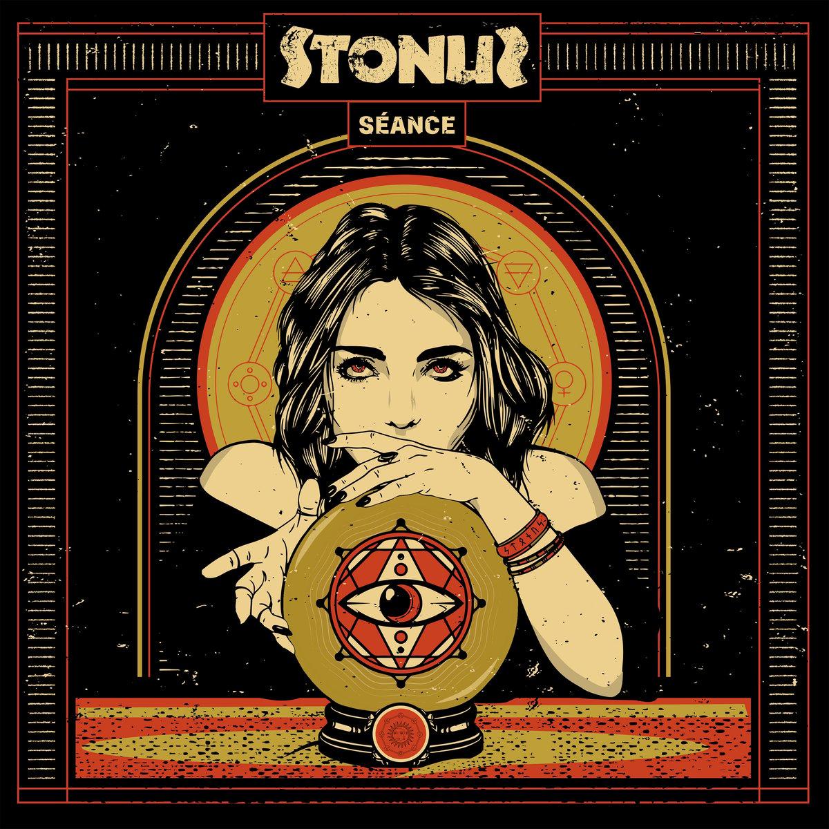 Image of Stonus - Sèance LTD Black Vinyl / Side B Picture Disc