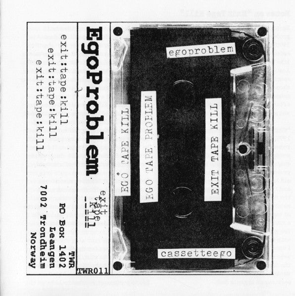 Image of Egoproblem ‎– Exit Tape Kill CD