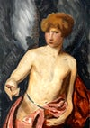 Colour Study of Icarus after Van Dyck