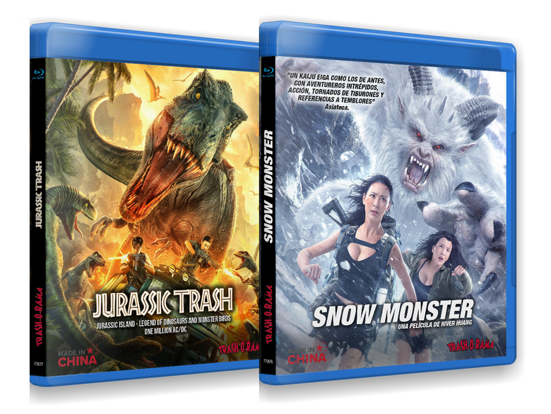 Image of COMBO JURASSIC TRASH COLLECTION + SNOW MONSTER