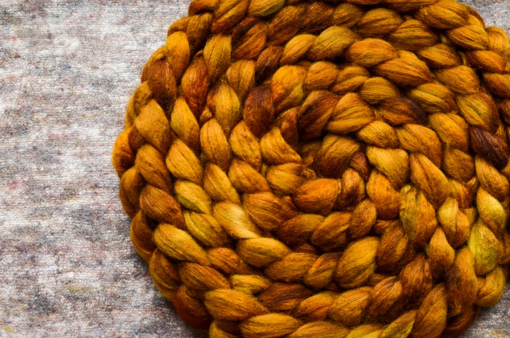 "Image of ""Honey Amber"" January Fiber Club Coordinate- PRE-ORDER - 4 oz."