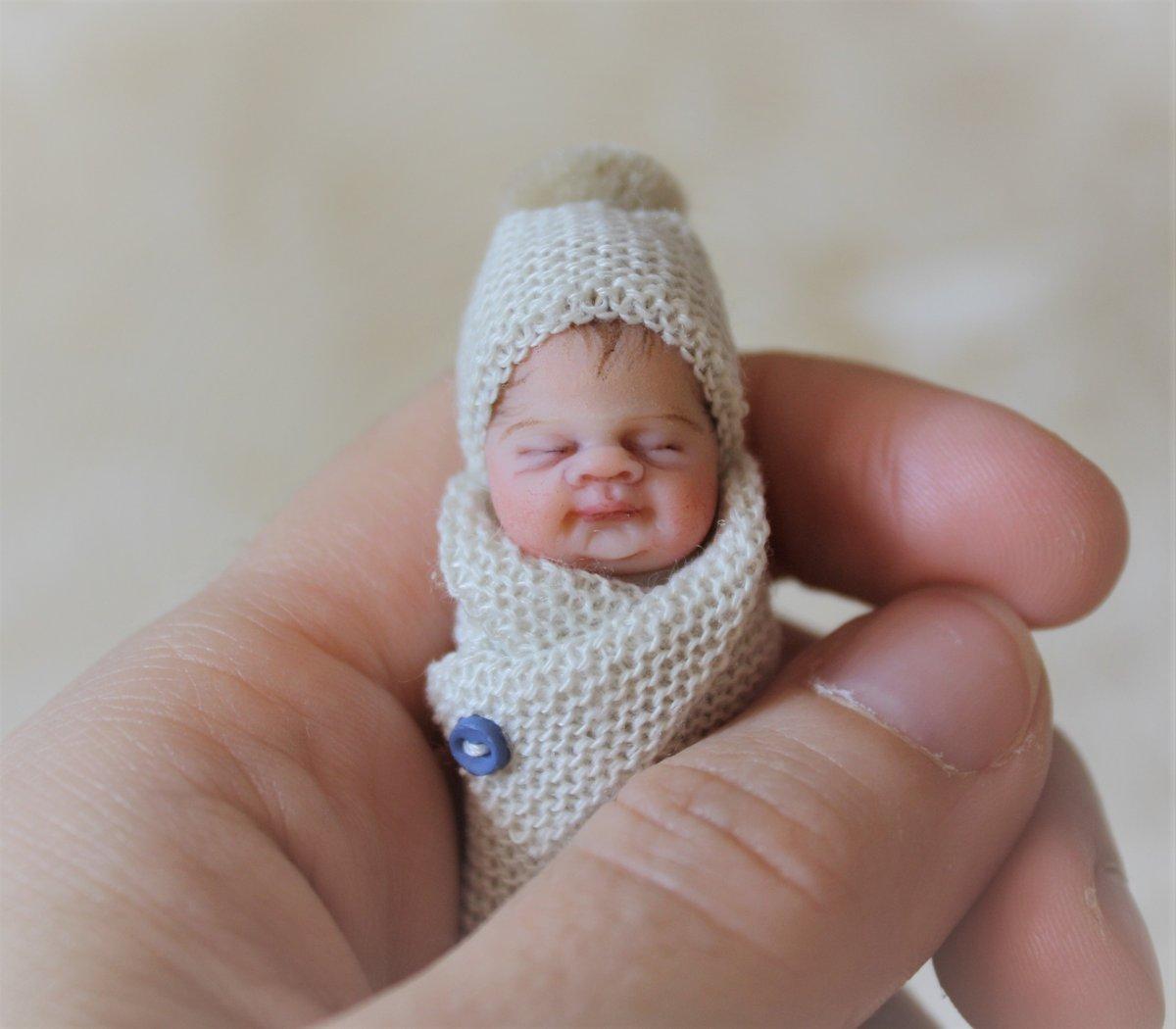 Image of #4 OOAK Miniature Bundle Baby Boy