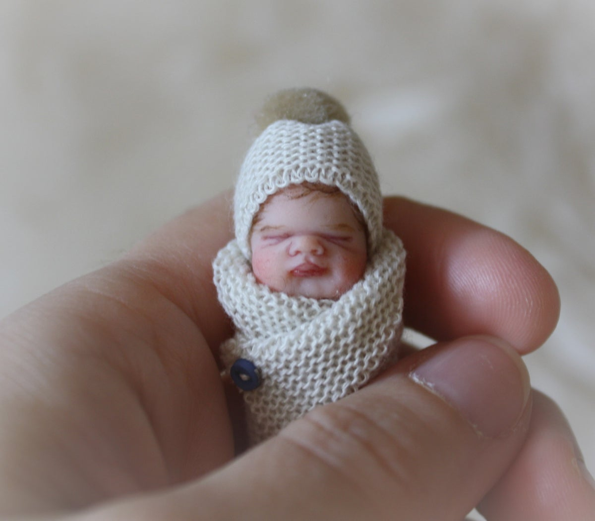 Image of #6 OOAK Miniature Bundle Baby Boy