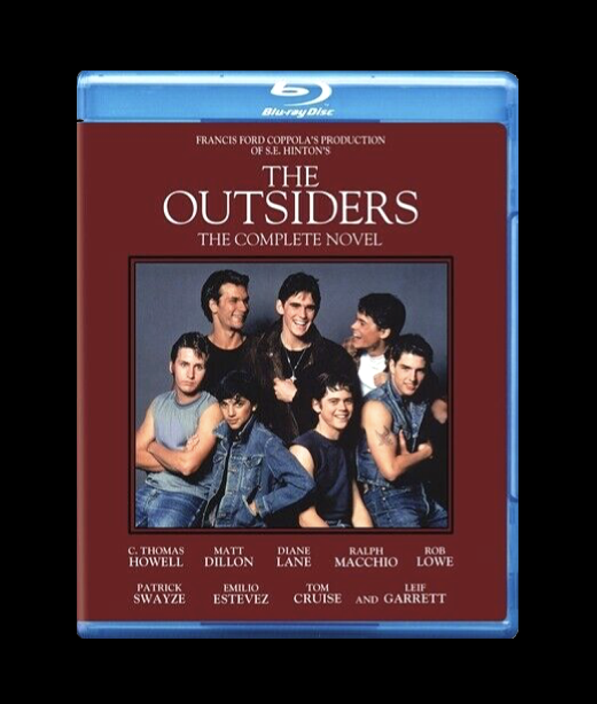Image of The Outsiders: The Complete Novel [New Blu-ray] Dolby Digital