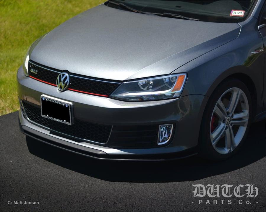 Image of VW MK6 GLI FRONT BUMPER SPLITTER