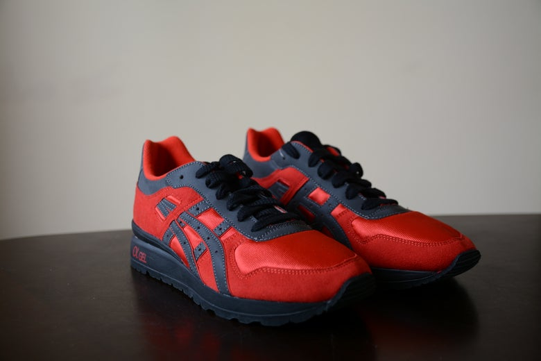 Image of Bait x Asics GT-II Olympic Rings Red