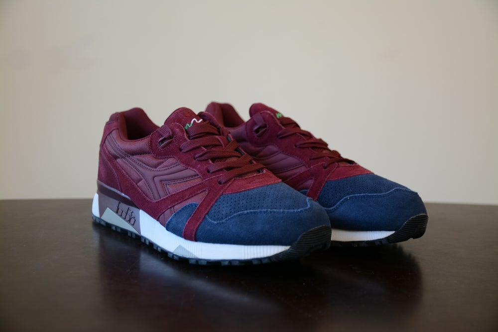 Image of Diadora N9000 Violet Brick Blue Corsair
