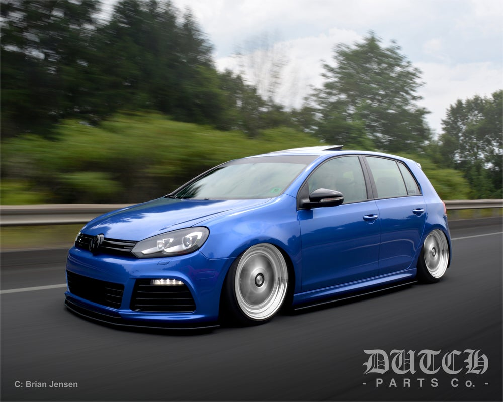 Image of VW MK6 GOLF R SIDE SKIRT SPLITTERS