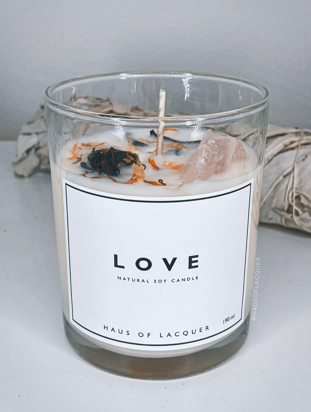 Image of LOVE CANDLE