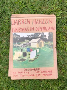 Image of Darren Hanlon - Christmas in QLD Poster