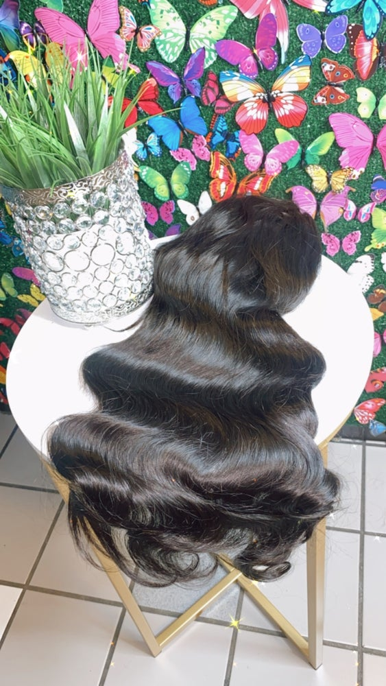 Image of  Body wave TEXTURE  4x4 lace closure wig