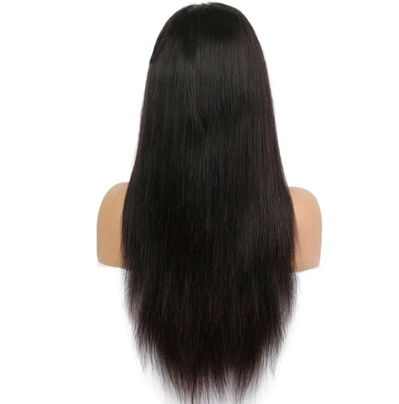Image of Transparent Straight  4x4  Lace closure wig