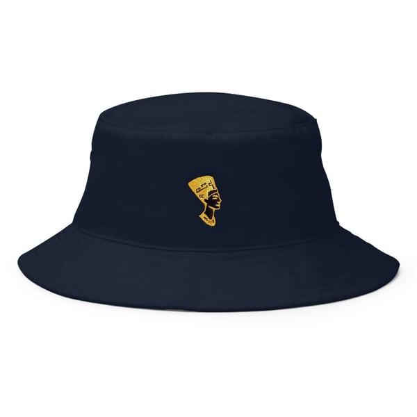 Image of Classic Nefertiti (Navy Blue Hat)