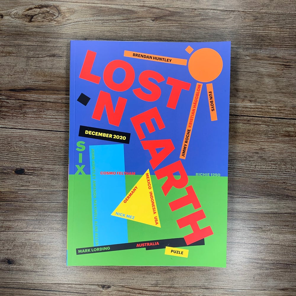 Image of LOST ON EARTH - ISSUE 6.