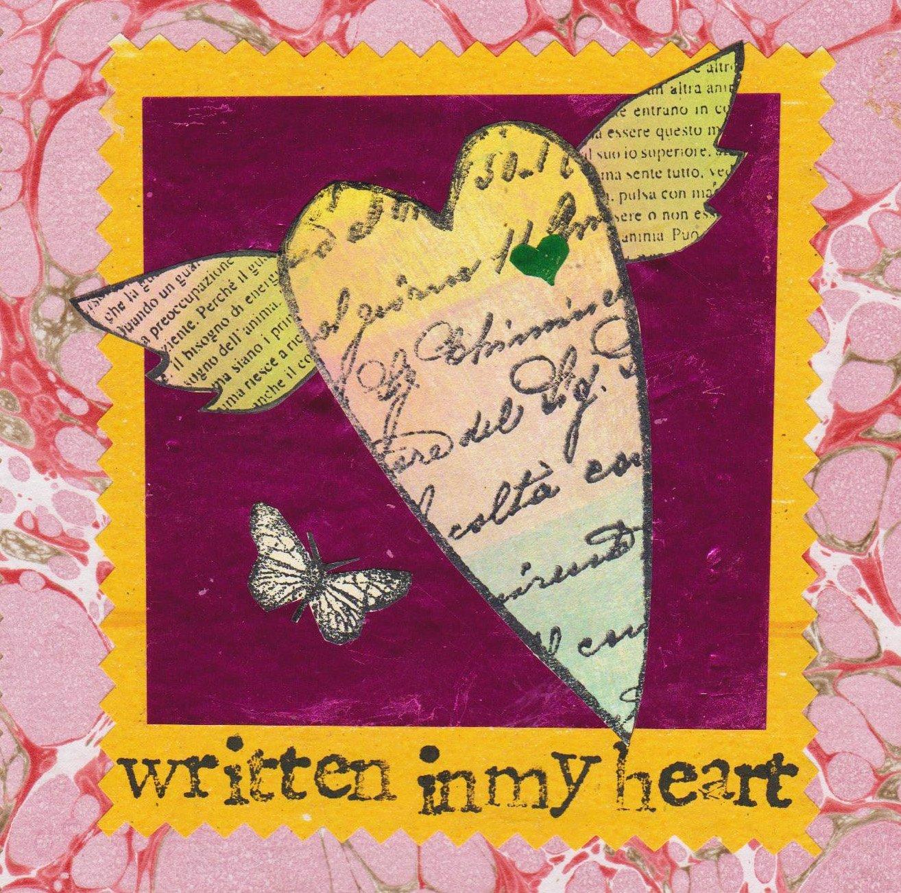 Image of Written in my heart  #2582