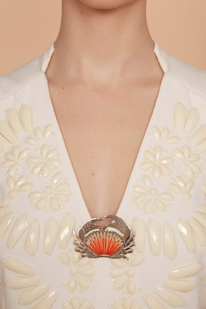 Image of CRABE - BROCHE - XL