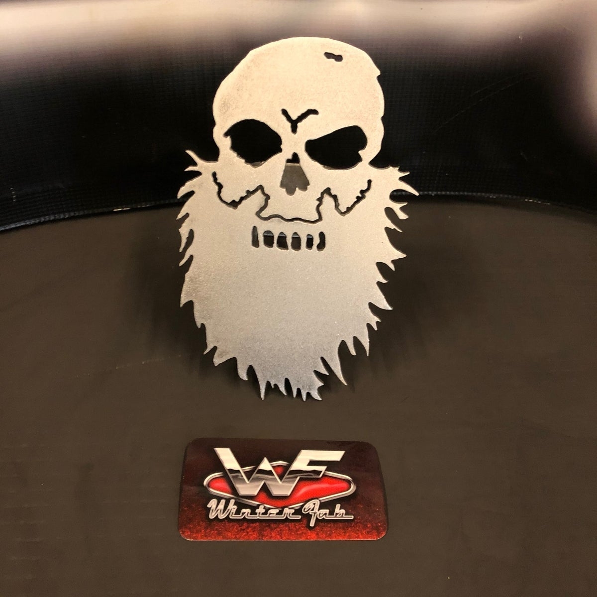 Image of Bearded Skull Hitch Cover