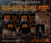 Image of EPICARDIECTOMY TWO ALBUMS RE-PRESS MERCH/FLAG !!! PRE-ORDER