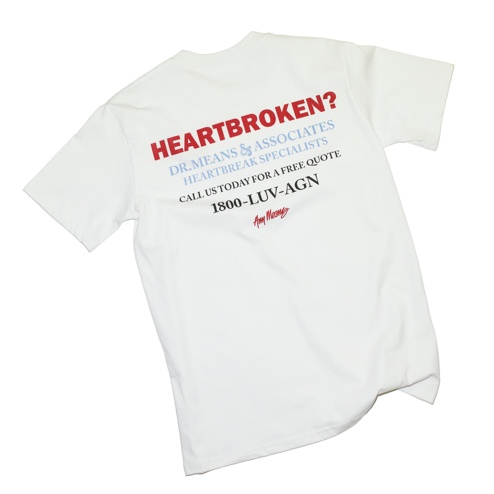 Image of Heartbroken Tee in White