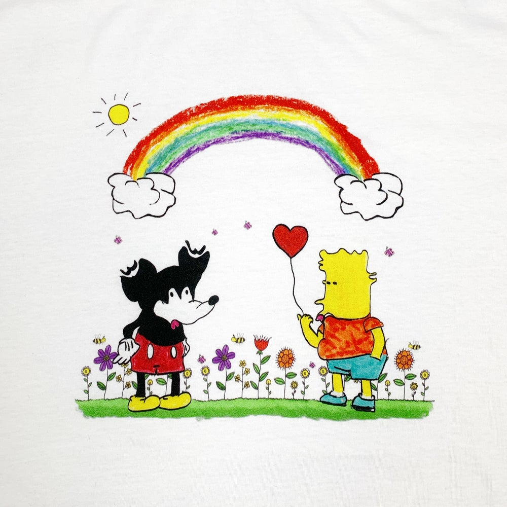 """Image of """"Love is love"""" t-shirt (White)"""