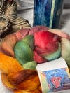 """Made to Order """"Equinox"""" on Wool Roving"""