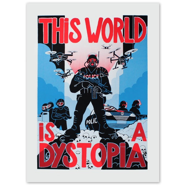 Image of THIS WORLD IS A DYSTOPIA - EMDT