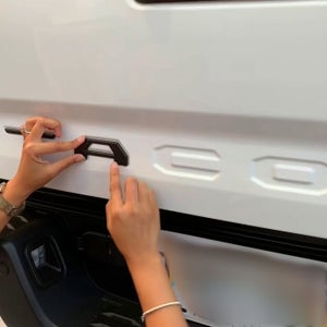 Image of Tailgate Emblem Inserts for 3RD GEN Tacoma (2016-2021)
