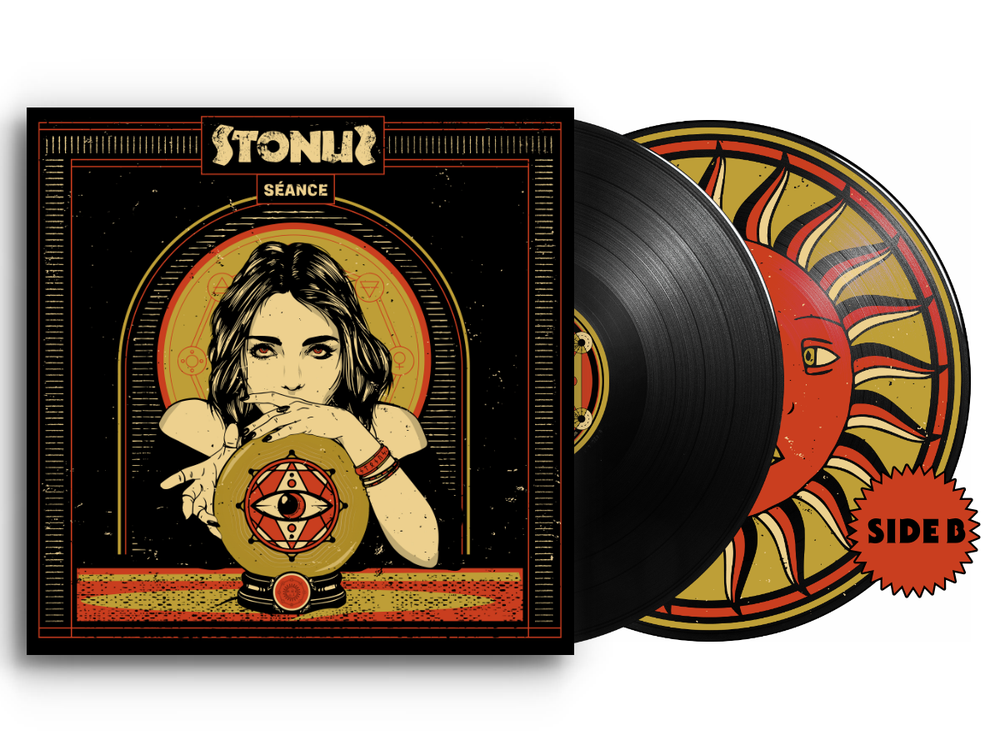 Image of Stonus - Sèance LTD Black Vinyl / Side B Picture Disc
