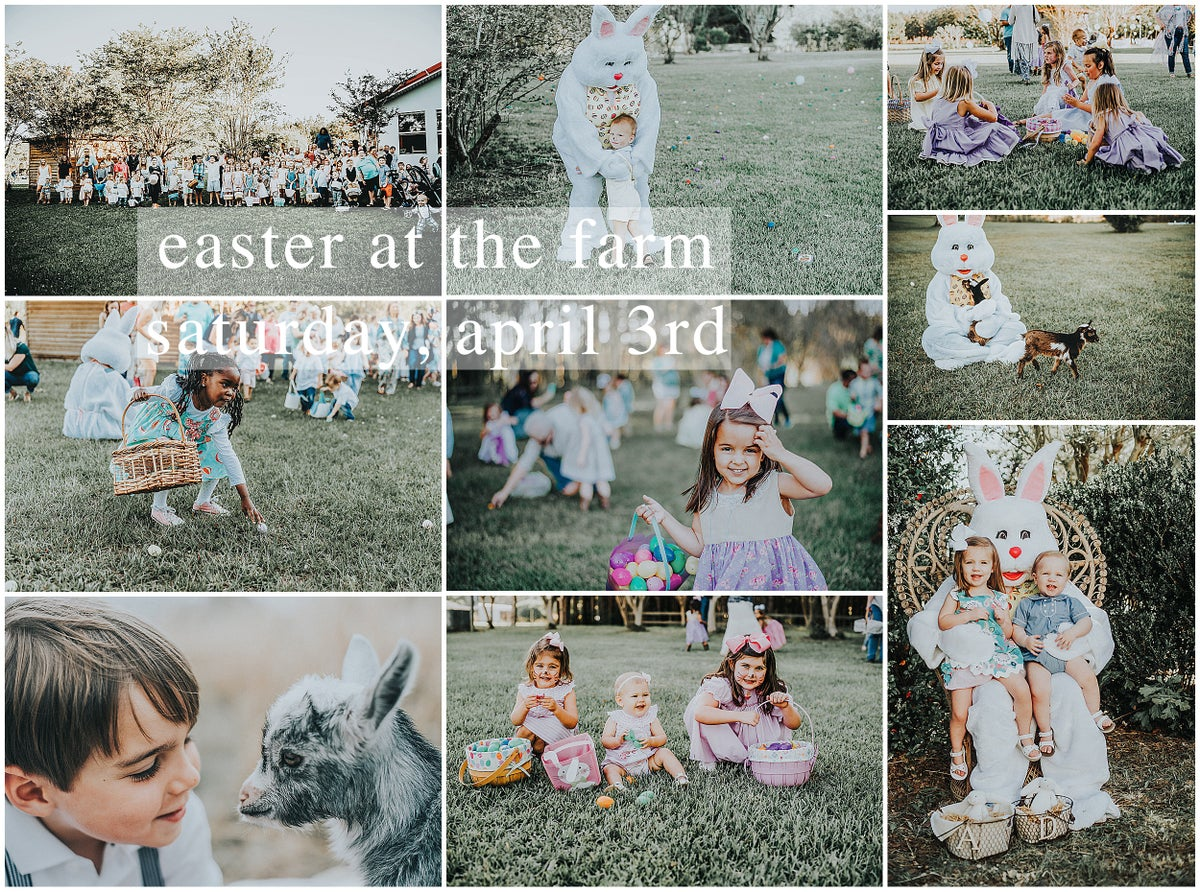 Image of EASTER AT THE FARM!